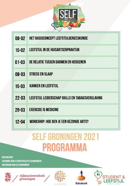 SELF Groningen 2021 - Programma A4