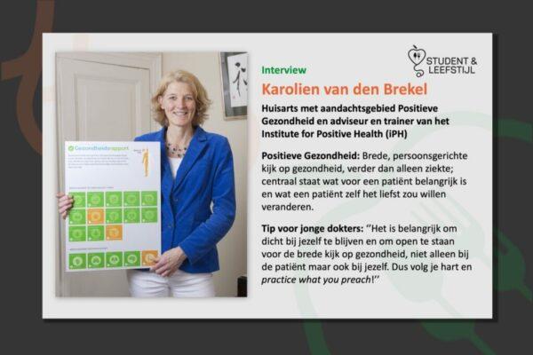 Interview Karolien vd Brekel
